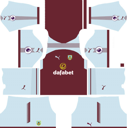 Burnley F.C. Home Kits DLS 2018