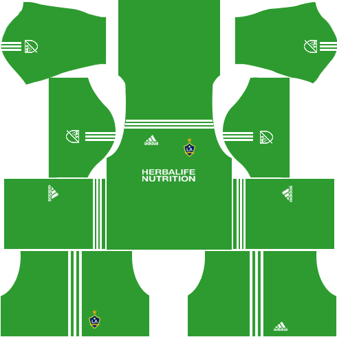 LA Galaxy Goalkeeper Away Kits DLS 2018