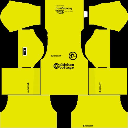 T-Team Kits Goalkeeper Away DLS 2018