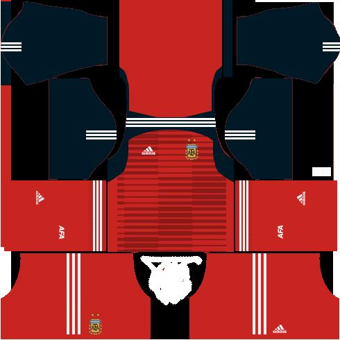 Argentina goal keeper home kits