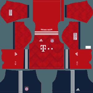 dream league soccer bayern munich kits home
