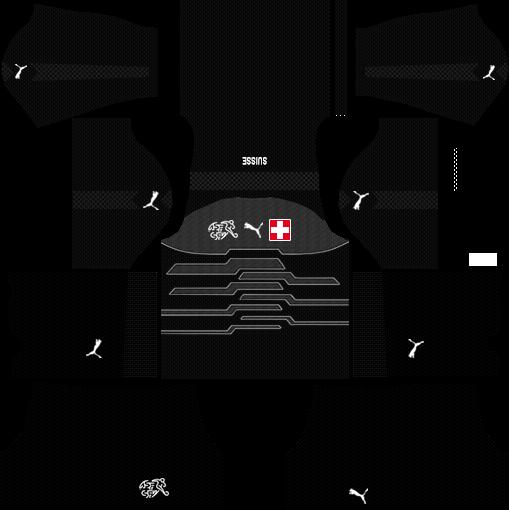 Switzerland Goalkeeper Kits 2018