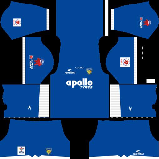 Chennaiyin FC Kits Home 2018