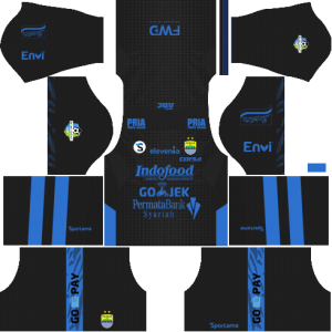 Dream League Soccer Persib Bandung Kits and Logos 2018, 2019 - [512X512]