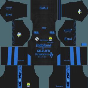 dream league soccer Persib Bandung away kit