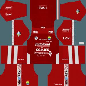 dream league soccer Persib Bandung gk home kit
