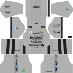 dream league soccer Persib Bandung gk away kit