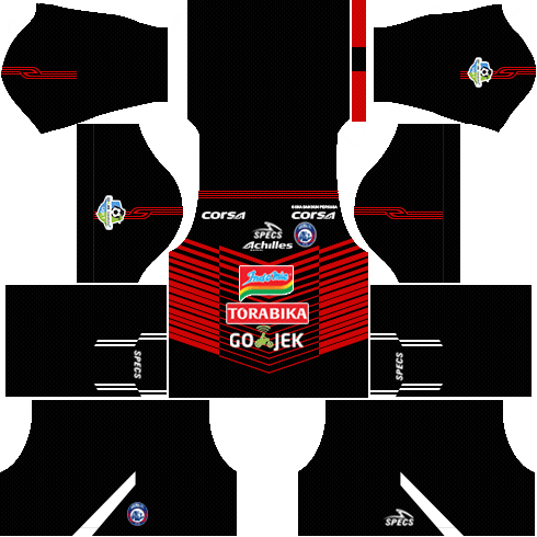 dream league soccer arema fc gk home kit