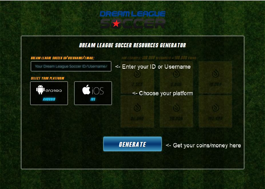 dream league soccer cheats codes