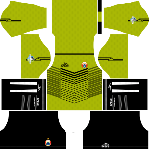 dream league soccer parsija jakarta gk away kit