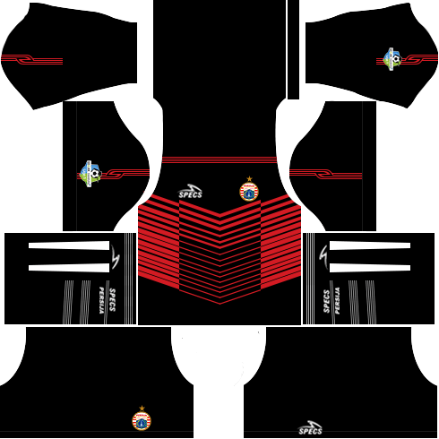 Dream League Soccer Persija Jakarta goalkeeper home kit 2018 - 2019