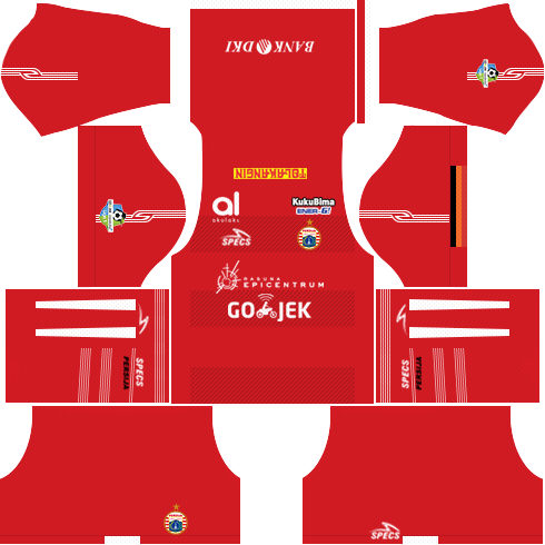 dream league soccer parsija jakarta home kit