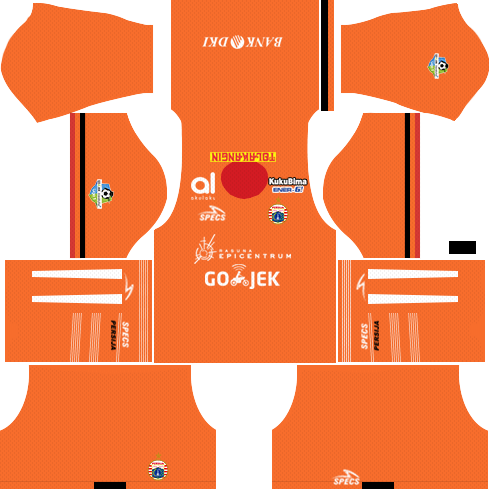 Dream League Soccer Persija Jakarta third kit 2018 - 2019