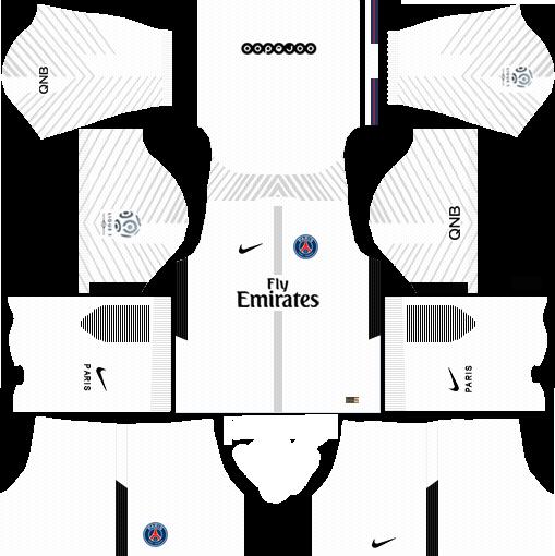 dream league soccer psg gk away kit