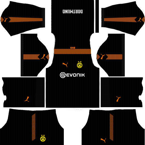 Borussia Dortmund dls team gk away kit