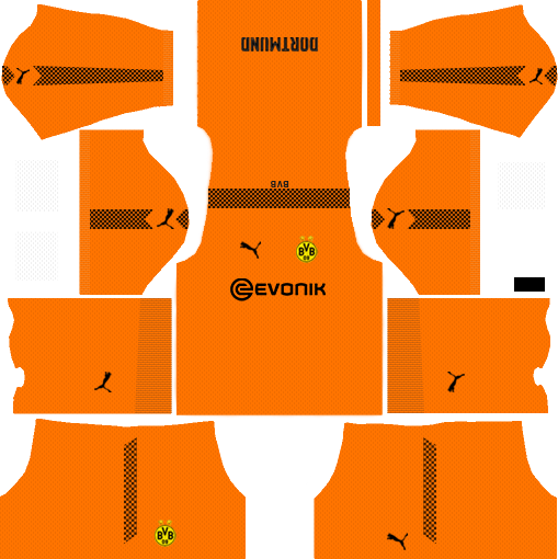 Borussia Dortmund dls team gk home kit