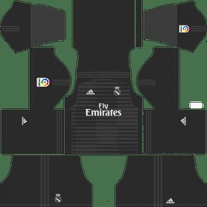 Dream League Soccer Real Madrid goalkeeper home kit 2018 - 2019