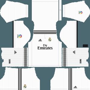 Dream League SoccerReal Madrid Kits and Logos 2018, 2019 – [512X512]