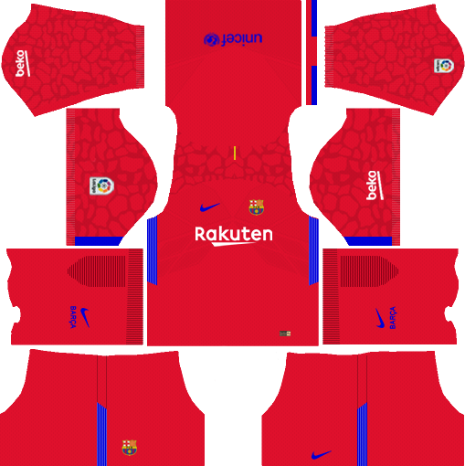 dream league soccer barcelona gk home kit