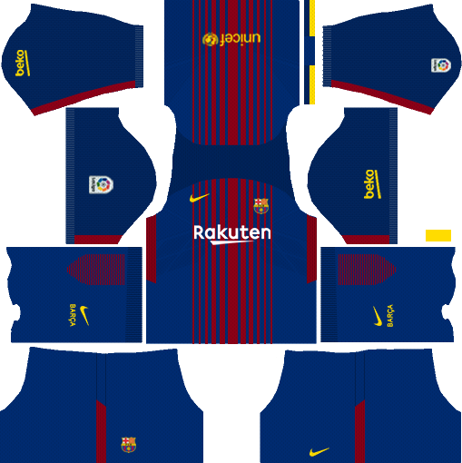 dream league soccer barcelona home kit