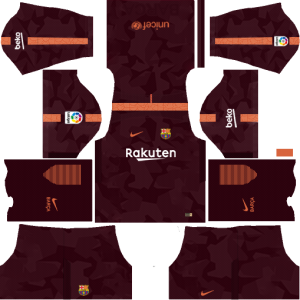 Dream League Soccer Barcelona third kit 2018 - 2019