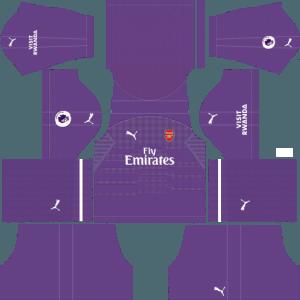 dls arsenal kits away gk dream league soccer