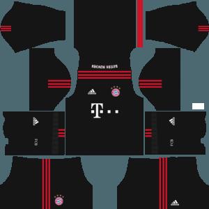 dream league soccer bayern munich gk home kits
