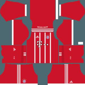 dream league soccer bayern munich home kit