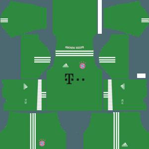 dream league soccer bayern munich kits gk away