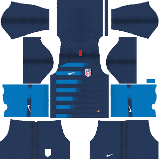 dream league soccer usa kits away