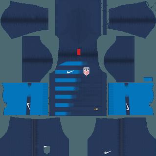 dream league soccer usa kits away