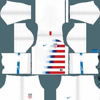 dream league soccer usa kits home