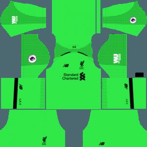 dream league soccer liverpool kits gk away