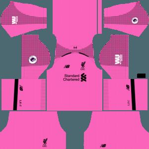 dream league soccer liverpool kits gk third