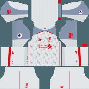 dream league soccer liverpool kits third