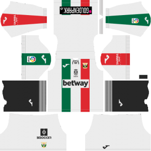 Dream League Soccer CD Leganes away kit 2018 - 2019