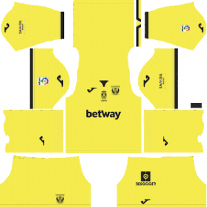 Dream League Soccer CD Leganes goalkeeper away kit 2018 - 2019