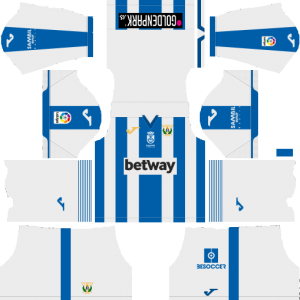 Dream League Soccer CD Leganes home kit 2018 - 2019