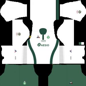 DLS Saint Etienne away kit 2019