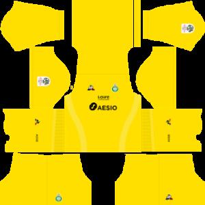 DLS Saint Etienne goalkeeper away kit 2019