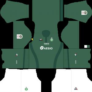 DLS Saint Etienne home kit 2019