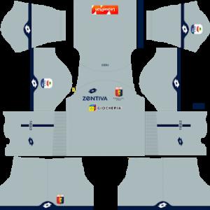 Dream League Soccer Genoa goalkeeper away kit 2018 - 2019
