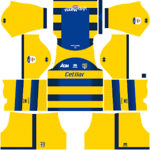 Dream League Soccer Parma away kit 2018-2019