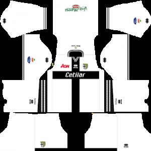 Dream League Soccer Parma home kit 2018-2019
