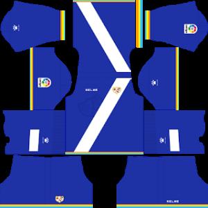 Dream League Soccer Rayo Vallecano goalkeeper away kit - 2018 - 2019