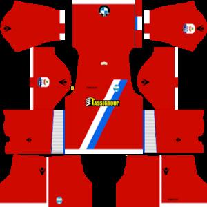 Dream League Soccer SPAL away kit 2018-2019