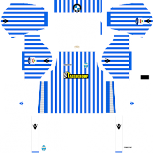 Dream League Soccer SPAL home kit 2018-2019