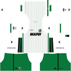 Dream League Soccer Sassuolo away kit 2018-2019