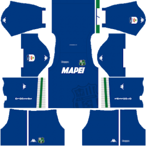 Dream League Soccer Sassuolo goalkeeper away kit 2018-2019