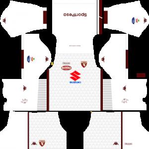 Dream League Soccer Torino away kit 2018 - 2019